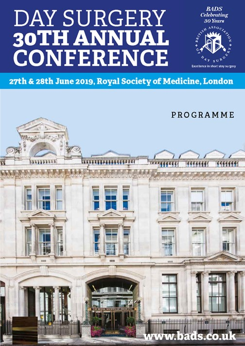2019 ASM programme front cover